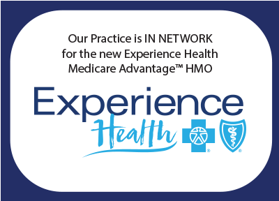 Wake Skin Cancer Center is IN NETWORK with Experience Health North Carolina Medicare Advantage HMO