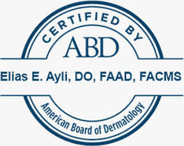 Wake Skin Cancer Center, P.A., Dr. Elias Ayli, Dermatologist Certified by ABD American Board of Dermatology