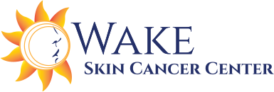 text logo for Wake Skin Cancer Center, P.A. | Dermatologist | Dermatology